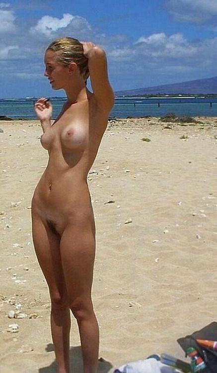 Nude males at the beach-4173