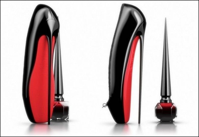 Rouge Louboutin, scarpa a suola rossa by Valentina Asia Russo on @sbaam