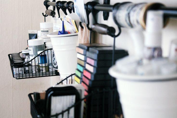 Meresanth Krafts: Organizacja craft-kąta / Craft corner organisation