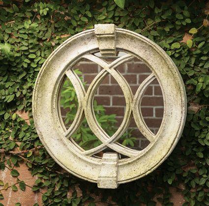 3809: Round Garden Mirror (Product Detail)
