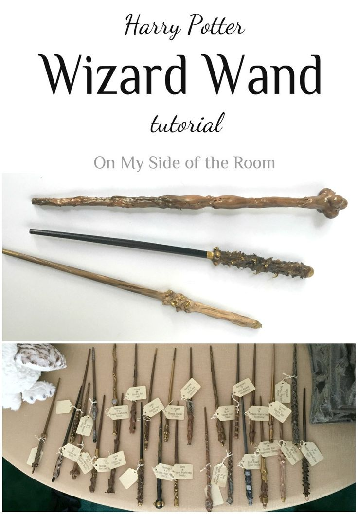 A tutorial to show you how to make an inexpensive Harry Potter wand using chopsticks, glue and everyday objects. A simple project that even young kids will enjoy doing.