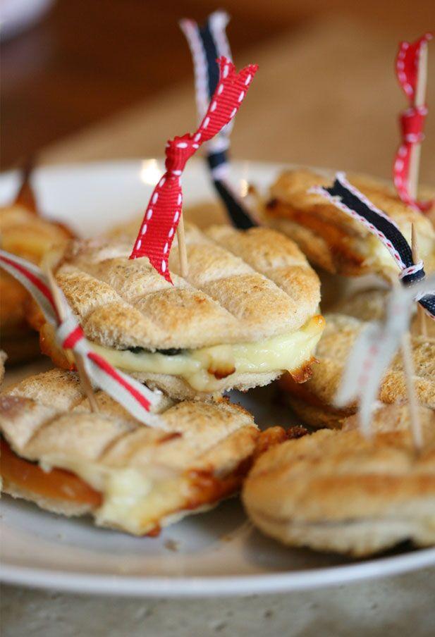 A braai classic: braaibroodjies (braai sandwiches).