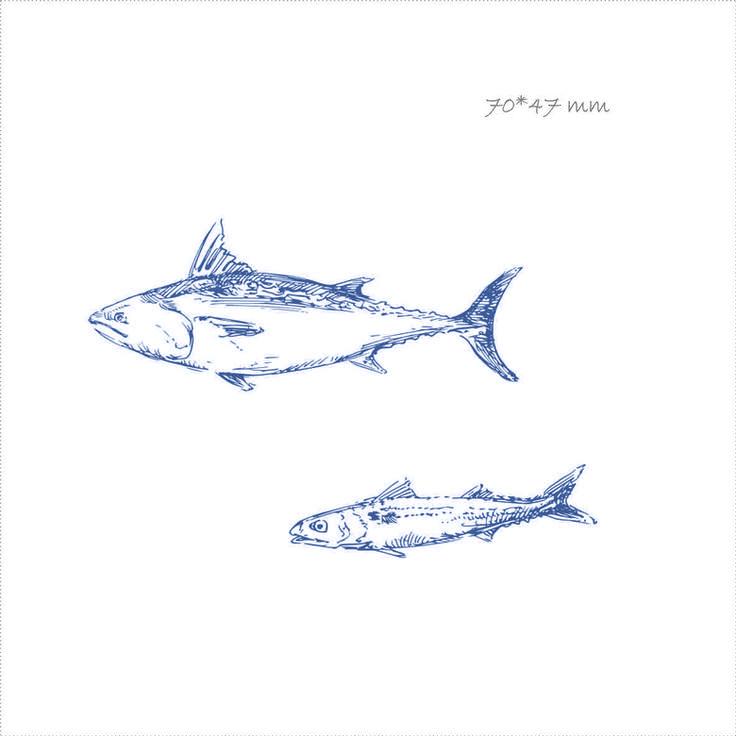 сувенир из фетра с рисунком на морскую тематику, рыбка,  креативные подарки, оригинальные подарки