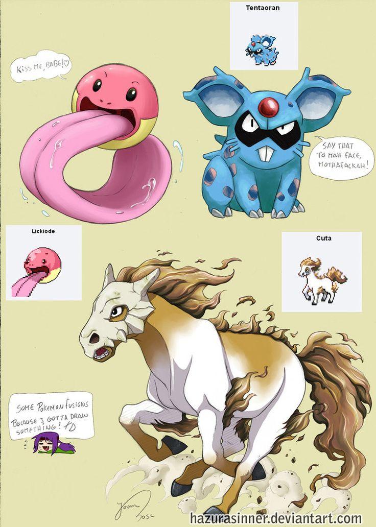 deviantART: More Like Starcruel Pokemon Fusion by *TentacleWaitress