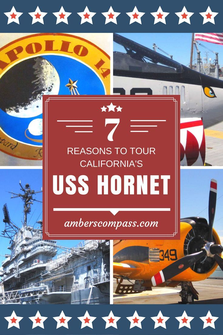 7 Reasons to Tour California's USS Hornet!   The USS Hornet is a landmark aircraft carrier just east of San Francisco. The tour was a perfect combination of education, history, and fun.