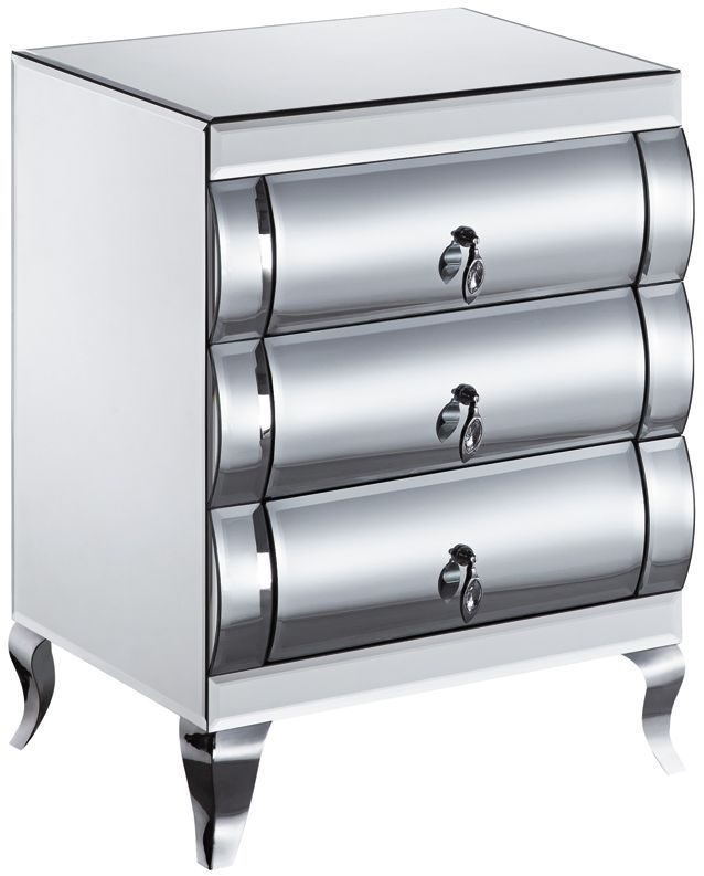A mirrored bedside cabinets upgrades the look of your room, study or visitor room. Shop for the modern and stylised Mirrored Bedside Cabinet furniture online. Order the best quality furniture with free home delivery service. Buy Now!