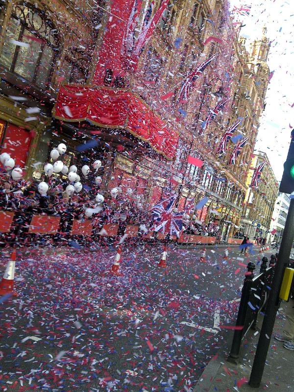 @Harrods #DiamondJubilee #Jubilee #Flags
