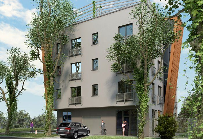 Budynek mieszkalno-usługowy Lusińska
