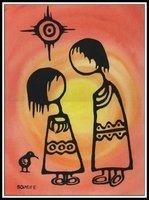 Ayla Bouvette - Metis Art - Children - interaction