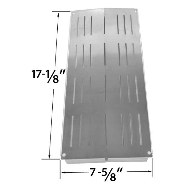 STAINLESS STEEL HEAT SHIELD FOR GRAND CAFE GC-1000 AND CHARBROIL 4632210, 4632215, 463234603 GRILL MODELS Fits Compatible Grand Cafe Models : GC2000, Grand Cafe 1000, Grand Cafe 2000, Grand Cafe 3000 Read More @http://www.grillpartszone.com/shopexd.asp?id=34811&sid=15772