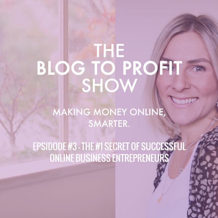 A picture of the blog to profit show logo image