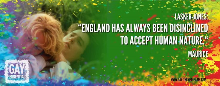 """England has always been disinclined to accept human nature""  http://gay-themed-films.com/film-quotes/ #MovieQuotes #Maurice"