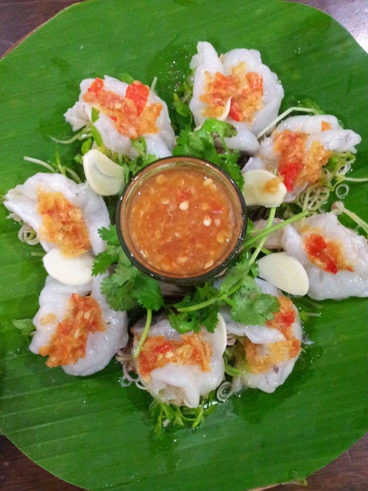 กุ้งแช่น้ำปลา Fresh Rew Prawn In Spicy Fish Sauce