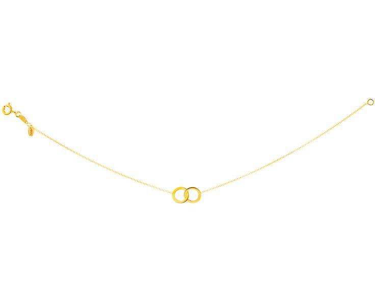 Złota bransoleta | Apart