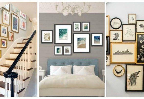 Amenajari interioare care aduc ineditul in decorul casei – Idei de foto wall