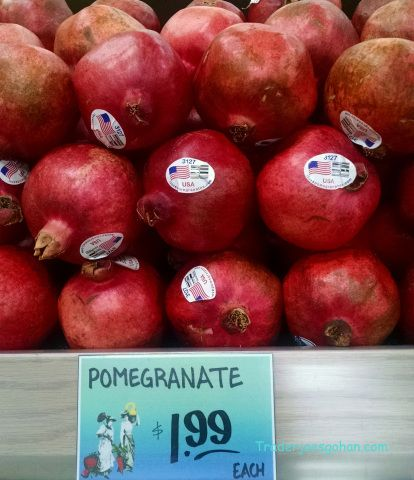 トレーダージョーズのザクロ Trader Joe's Pomegranate #traderjoes #pomegrante