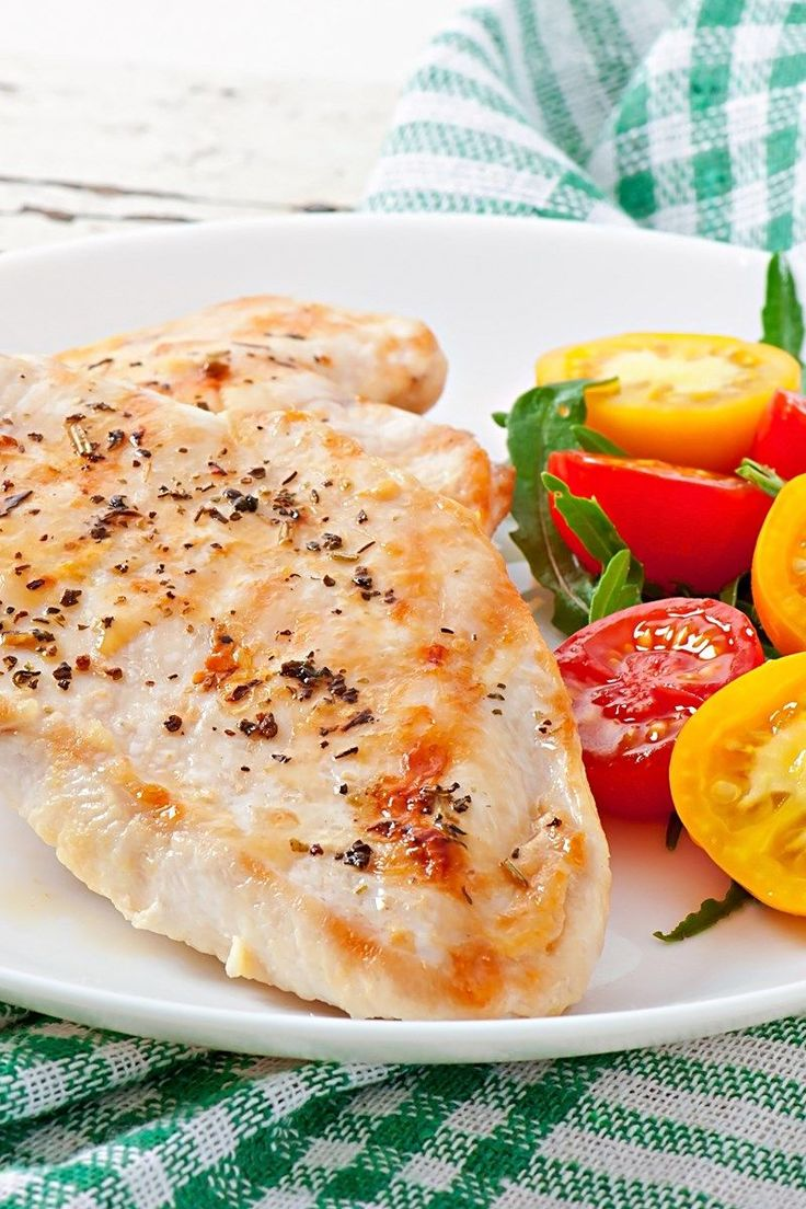 Baked Chicken with Lemon and Herbs (Weight Watchers)