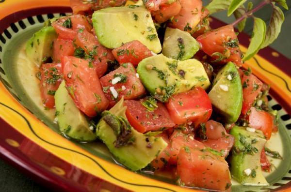 Since Sept. is Nat. cholestrol Education Month, on 9/20 make Rhonda's Tomato-cado Salad.
