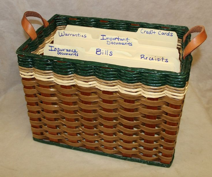 File Organizer Basket
