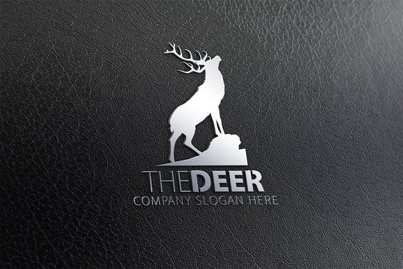 Deer Logo by eSSeGraphic on @creativemarket