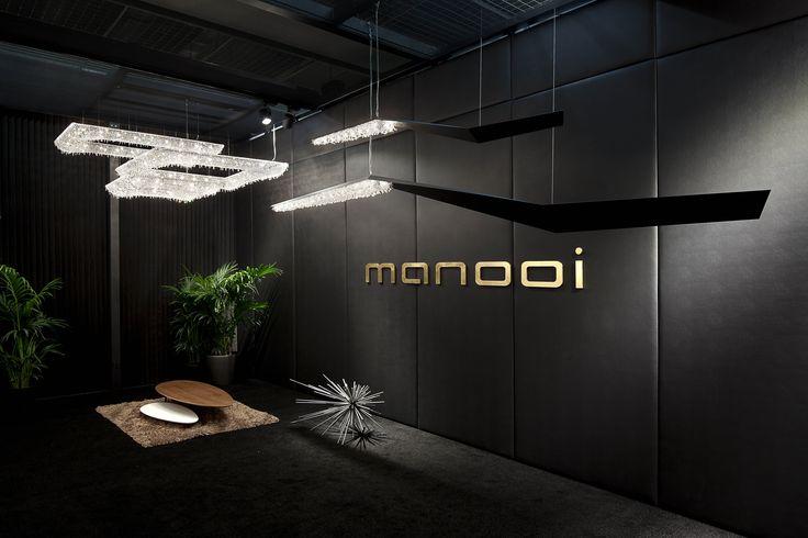Light + Building 2014, Koi composition, Wissh www.manooi.com #Manooi #Chandelier #CrystalChandelier #Design #Lighting #exhibition #LightBuilding