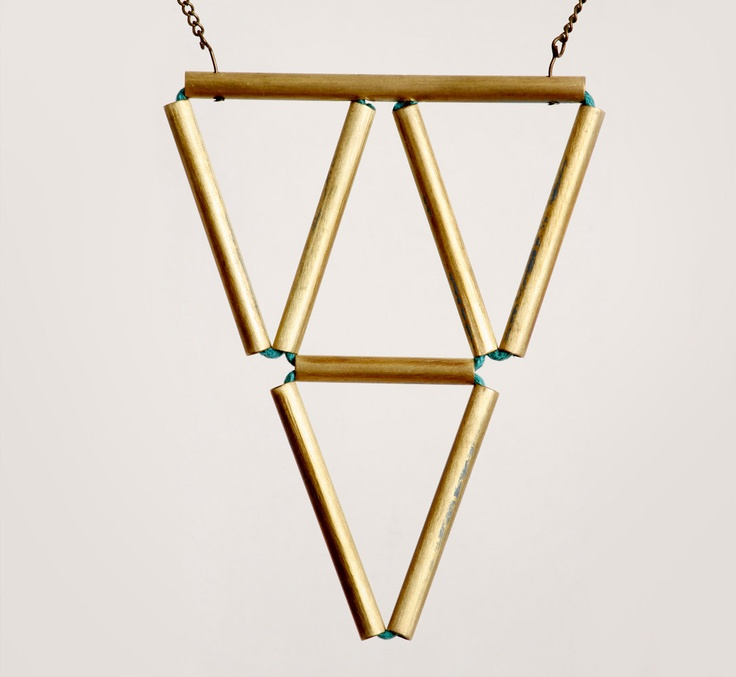 the mathematical instigation necklace. $50.00, via Etsy.
