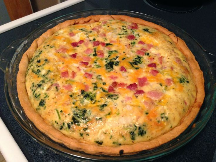 98 best recipes images on pinterest healthy meals for The best quiche ever
