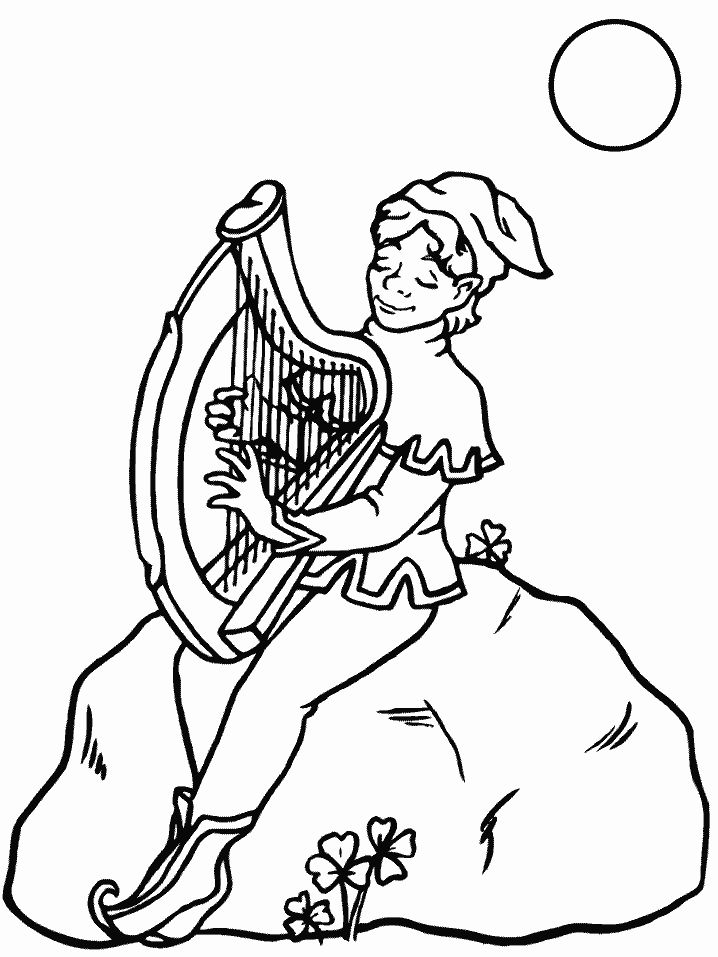 find this pin and more on harp music coloring page