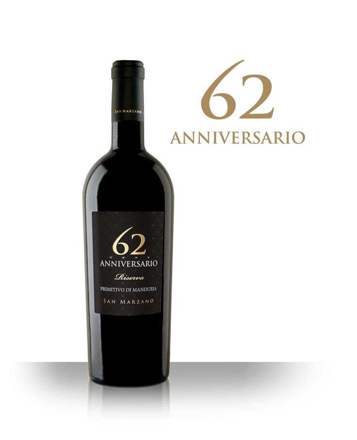 """Anniversario 62: Very old vineyards selected in San Marzano and Sava. The soil is mainly red with a fine texture and a generally calcareous underground with few emerging rocks. The redness of these soils is due to the presence of iron oxides. The climate is characterised by high temperatures all year round, very little rainfall and a wide temperature range between night and day. This is the central area of d.o.p. """"Primitivo di Manduria""""."""