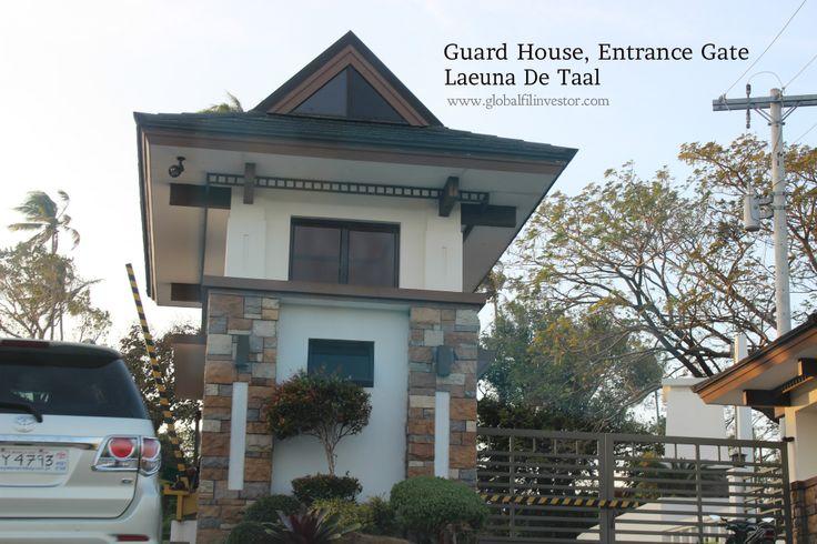 Laeuna de Taal Lake Guardhouse Entrance Gate January 2014 tripping