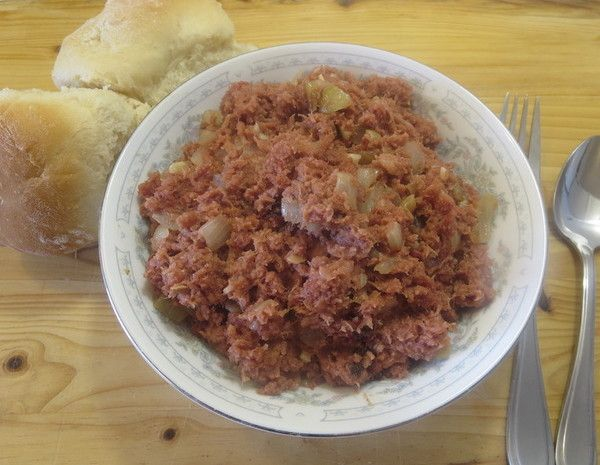 Ginisang Corned Beef