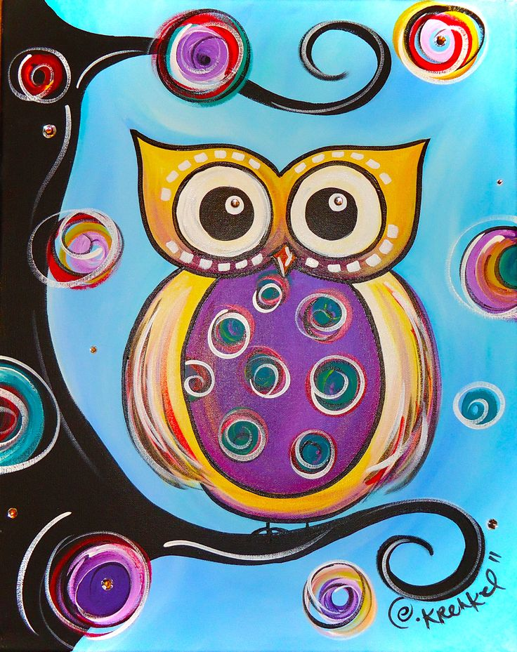 My next painting project.  Colorful and cute.