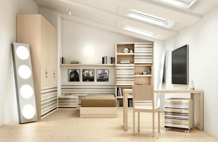 Camerette, camerette per ragazzi e ragazze, camerette per bambini, cabine armadio, letti, arredamento camerette