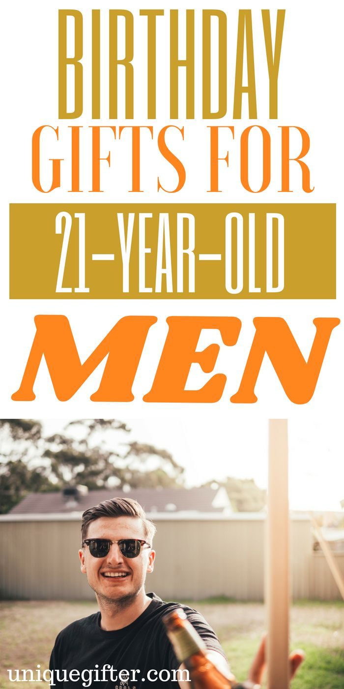 20 Birthday Gifts For 21 Year Old Men 20th Birthday Gift Guys 21st Birthday 21st Birthday Gifts For Guys