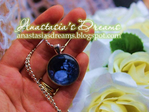 New baby  Custom made pendant with a chain by AnastasiasDreams