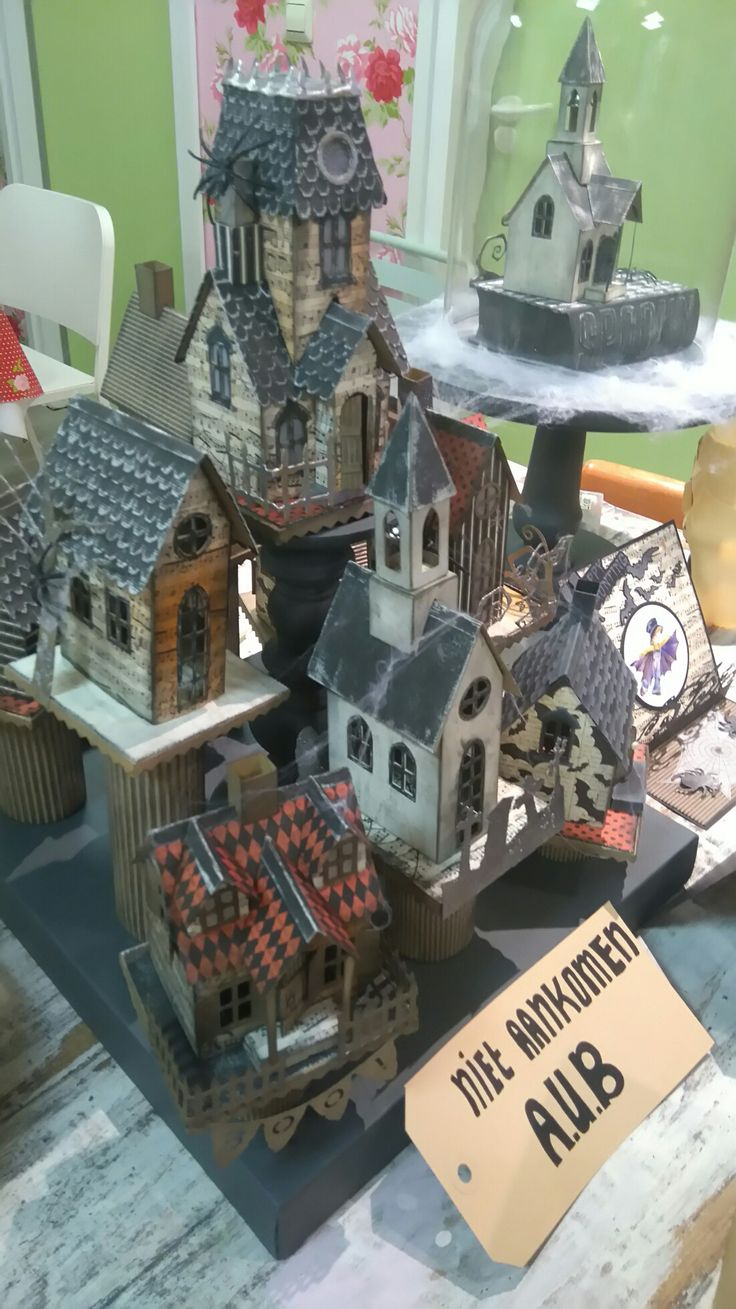 324 best Papercrafting - Little Paper Houses. images on Pinterest ...