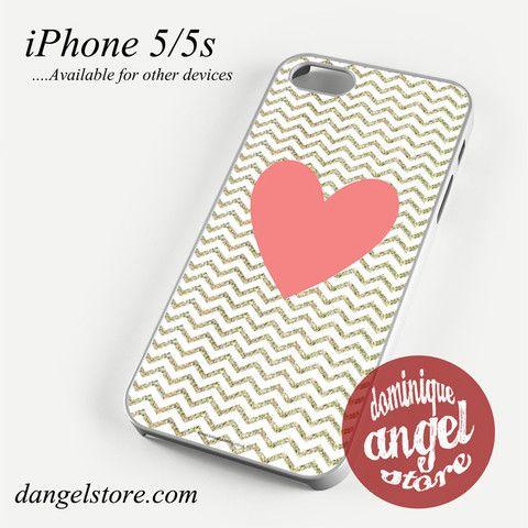Love Chevron Phone case for iPhone 4/4s/5/5c/5s/6/6 plus