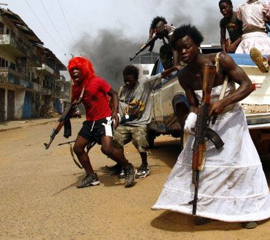 Liberia Civil War: