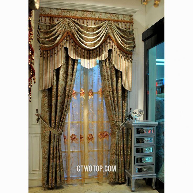 Best 25+ Swag curtains ideas on Pinterest   Curtain ideas ...