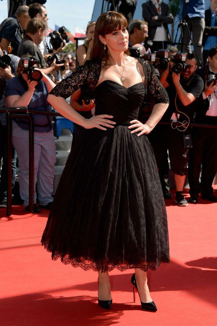 """Monica Bellucci in Dolce & Gabbana at the """"Le Meraviglie"""" premiere (2014)"""