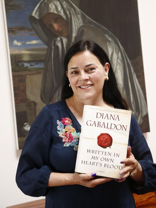 """Diana Gabaldon: """"I think the Outlander books will end in about 1800 in Scotland. If this tells you anything, more power to you. The last book will have a happy ending, although I confidently expect it to leave the readers in floods of tears anyway."""""""