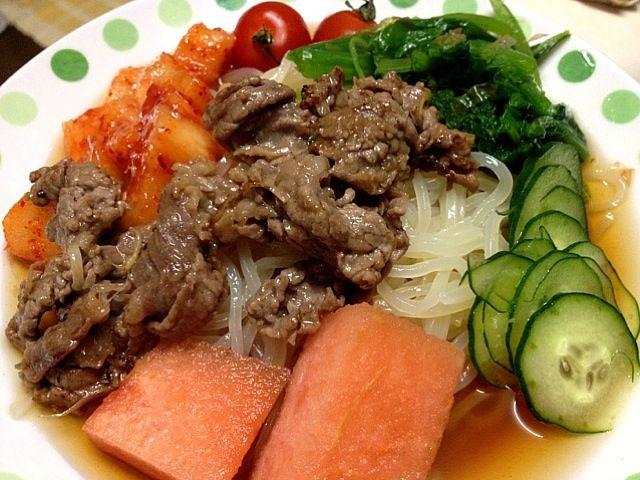 久々に食ったらうまーい。戸田久のは美味いわー。 - 64件のもぐもぐ - 盛岡冷麺 by nunusoft