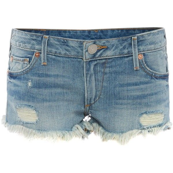 True Religion Cut-off joey shorts (£145) ❤ liked on Polyvore featuring shorts, pants, bottoms, true religion, denim mid wash, women, cut-off shorts, cut off shorts and true religion shorts