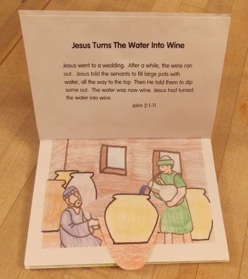 Miracles Of Jesus For Kids Activities
