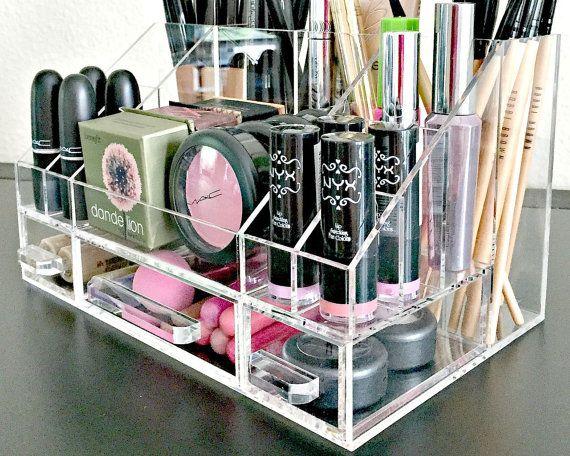 Arya acrílico maquillaje Organizador bandeja por MakeupOrganizer