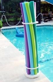 Pool Storage Ideas awesome pool storage ideas life creatively organized Pool Noodle Storage Organizer