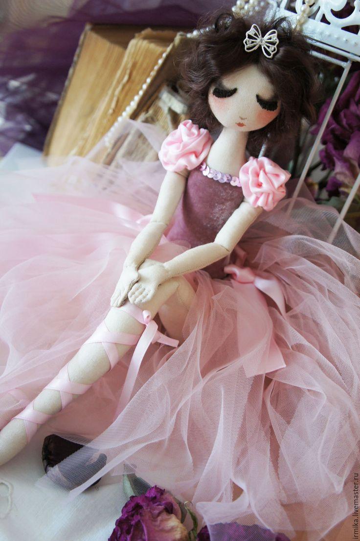 Купить Коллекционная кукла Балерина. Розовый. Винтаж. - розовый, балерина, кукла балерина, коллекционная кукла
