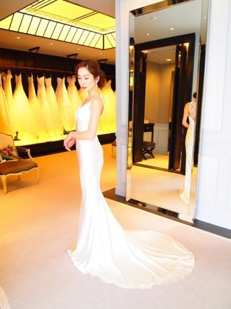 ザ・トリート・ドレッシング(The Treat Dressing)南青山 ザ・トリート・ドレッシング試着 まずは憧れドレス♡NYの「エリザベス・フィルモア」