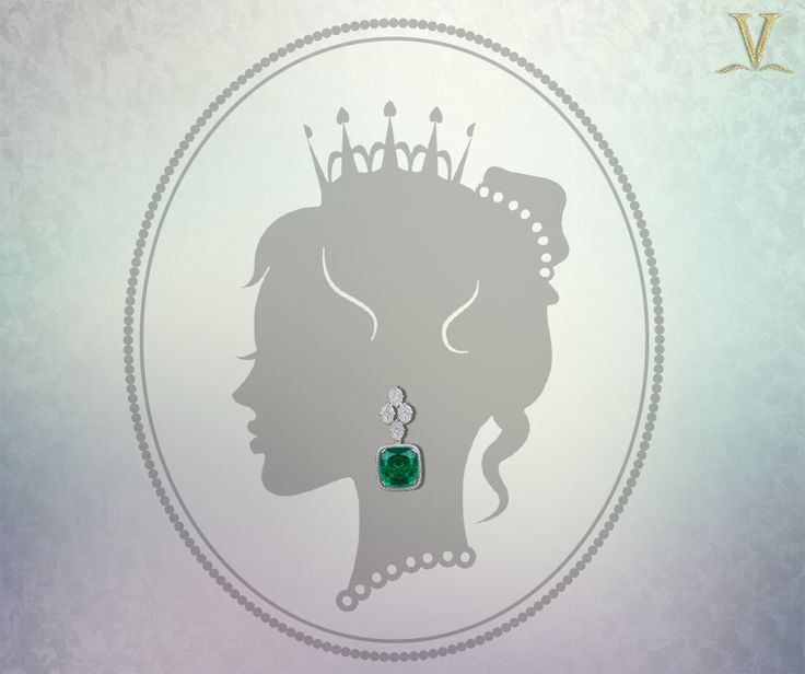 No beauty shines brighter than that of a good heart and deep hue emerald earrings. #OwnKindOfBeautiful