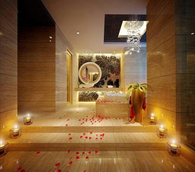9 best dream bathrooms images on pinterest dream for Zen spa bathroom designs